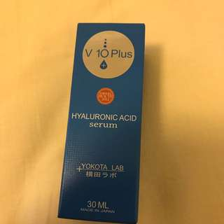 V10 plus hyaluronic acid serum