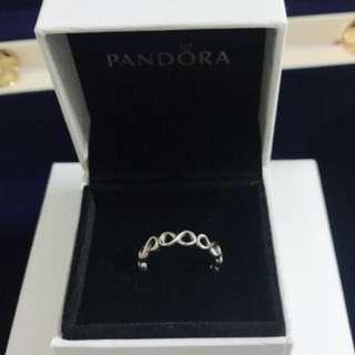 Pandora Infinity 戒指 (size52)