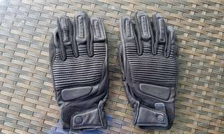 Brand New Genuine Spidi Garage Gloves Size L