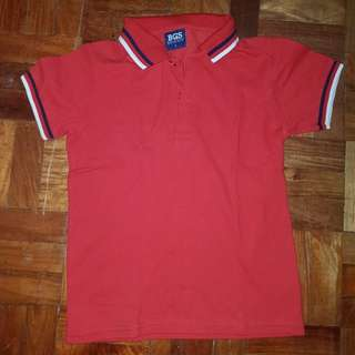 red polo shirt size4
