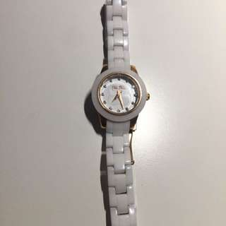 Folli Follie white watch