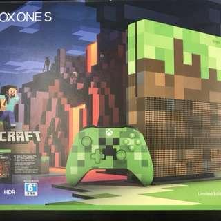 Xbox One S Minecraft 1TB Bundle