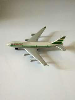 8O年代國泰747-400飛機模型