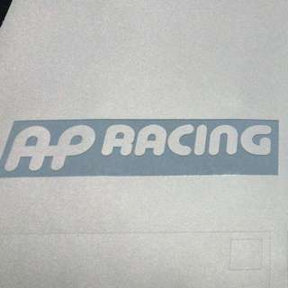 AP RACING STICKER DECAL