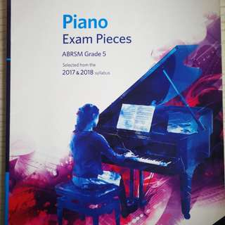 Abrsm piano exam pieces 2017-1018
