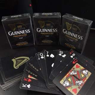 Guinness Stout playing cards
