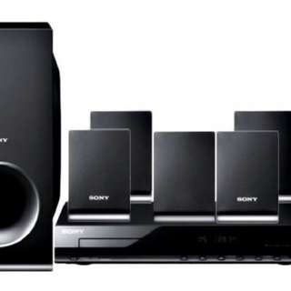 Sony DVD Player Theatre System Tz-140
