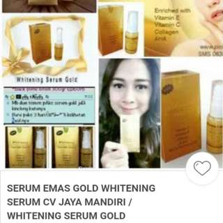 SERUM WHITENING GOLD