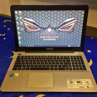 Asus Gaming laptop rushhh