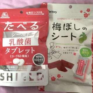 日本乳酸菌糖  梅干