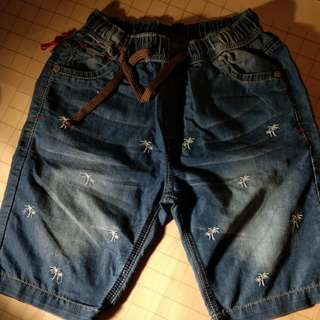 Celana color jeans import