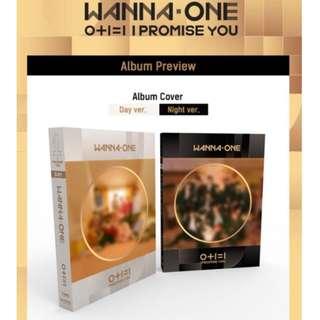 Wanna One 2nd Mini Album Day/Night Ver. Pre-Order