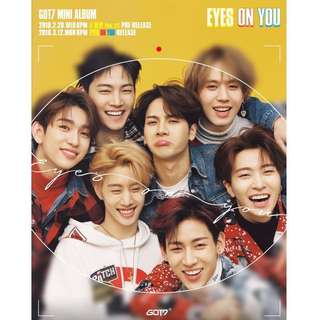[Incoming] GOT7 Eyes on You Album + Poster + 1st press benefits WTS