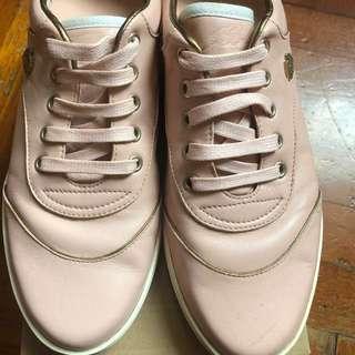 Gucci 全皮粉紅色運動鞋size 37