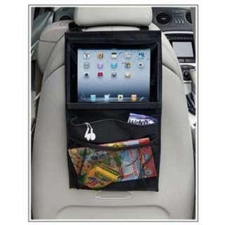 Rear seat ipad organizer belakang kursi mobil nonton praktis - HMO003