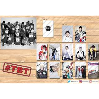EXO Wolf Photo Cards