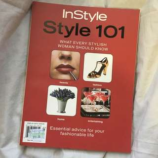 InStyle Style 101 Fashion Book
