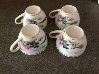 Teacups vintage 4