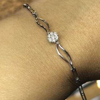 9kt diamond bracelet 鑽石手鏈