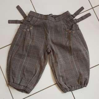 Unisex kids quater pants