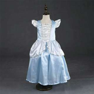 *FREE DELIVERY to WM only / Ready stock* Kids Cinderella costume dress each as shown design/color. Free delivery is applied for this item.