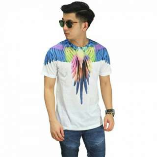 PROMO - Kaos Printing Colorful Bird Wings