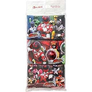 <日本直送 現貨> 宇宙戰隊Pocket tissues (1 pack 6 包)