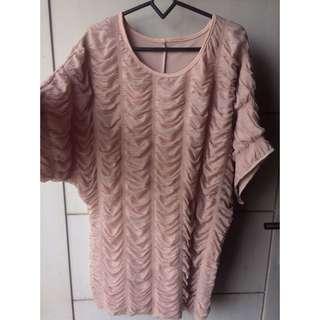 Nude pink dress #123moveon