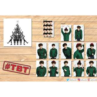 EXO Miracles in December Photo Cards