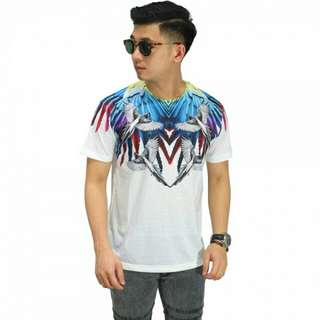 PROMO - Kaos Printing Colorful Parrot Wings
