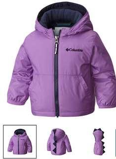 Columbia Toddler Jacket (Purple)