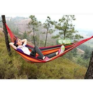 Hammock colorfull kasur gantung camping single series