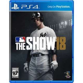 PS4 Game: MLB 18 The Show