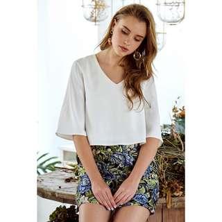 The Closet Lover Junique Top In White