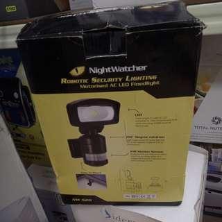 Nightwatcher Robotic security lightning