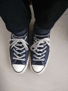 Converse CT 70s low black #FISIPUNIS