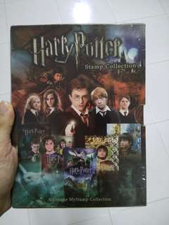 Harry Potter Limited Edition Stamps collection