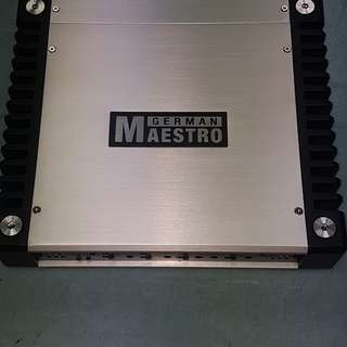 German mastro mono car amplifier