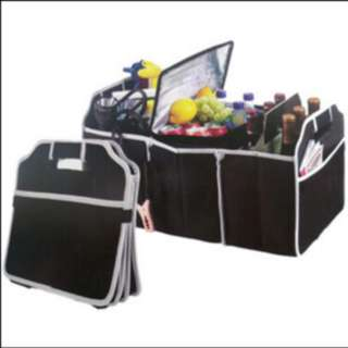 Car luggage storage bag tas penyimpanan multifungsi 3 sekat - HMO002