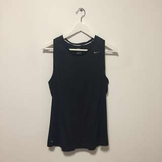 Nike Black Dri-fit Singlet