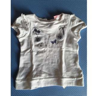 Chicco Butterfly Girly Top