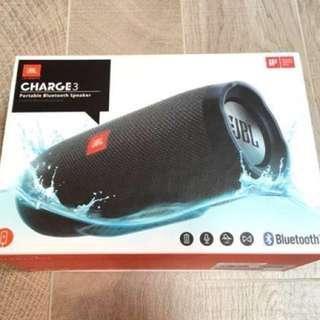(原廠全新)JBL Charge 3 bluetooth speaker 藍牙喇叭