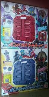 幪面超人 Build DX 能量瓶儲存板 潘多拉面版 附能量瓶 紫色 紅色 共二款 可組合