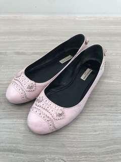 Balenciaga Pink Ballerinas