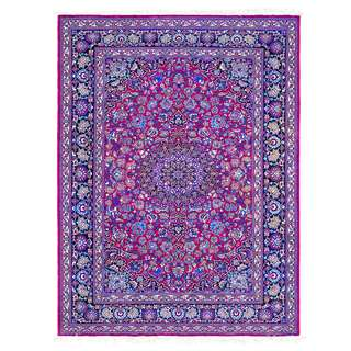 SAMEYEH LOT NO 0050 NAIN TOUDESHK FROM C. PERSIA 204 X 150 CM
