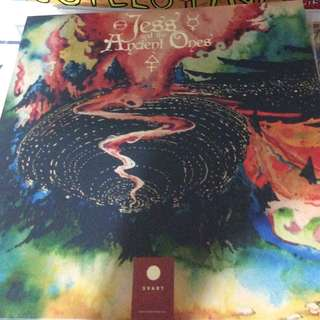 NM Jess And The Ancient Ones ‎– Astral Sabbat record vinyl limited psych rock
