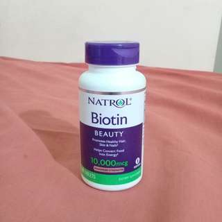 Biotin Natrol 10.000mcg #umntv2018