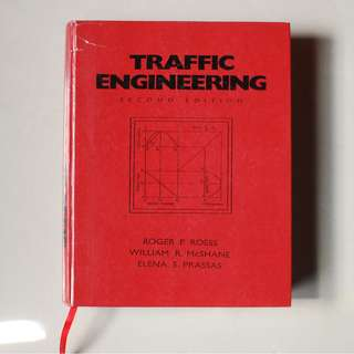 Traffic Engineering Second Edition - Roess, McShane, & Prassas (Hardcover Photocopy)