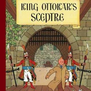 King Ottokar's Sceptre  Paperback The Adventures of Tintin English By (author)  Herge