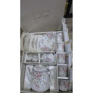 Montmartre EXCEED BON ~ 日本制 陶瓷茶具18件